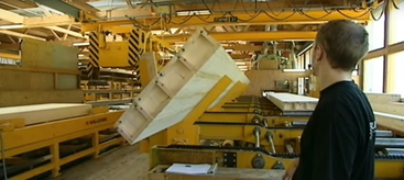 Технология производства облегченной клееной балки и бруса 1