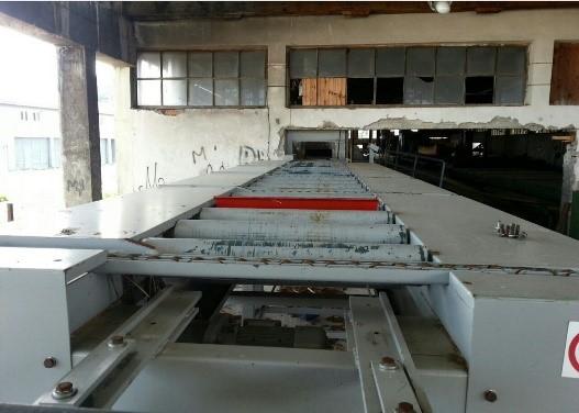 Автоматическая линия второго ряда на основе двухвального многопильного станка Storti 1