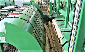 Timber Solutions проектирует и изготавливает средства автоматической механизации лесопильных потоков и цехов