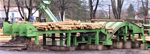 Поперечные цепные транспортеры подачи лесоматериалов 6