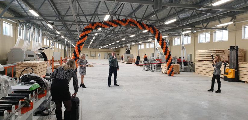 Открытие завода ООО 'Белка'